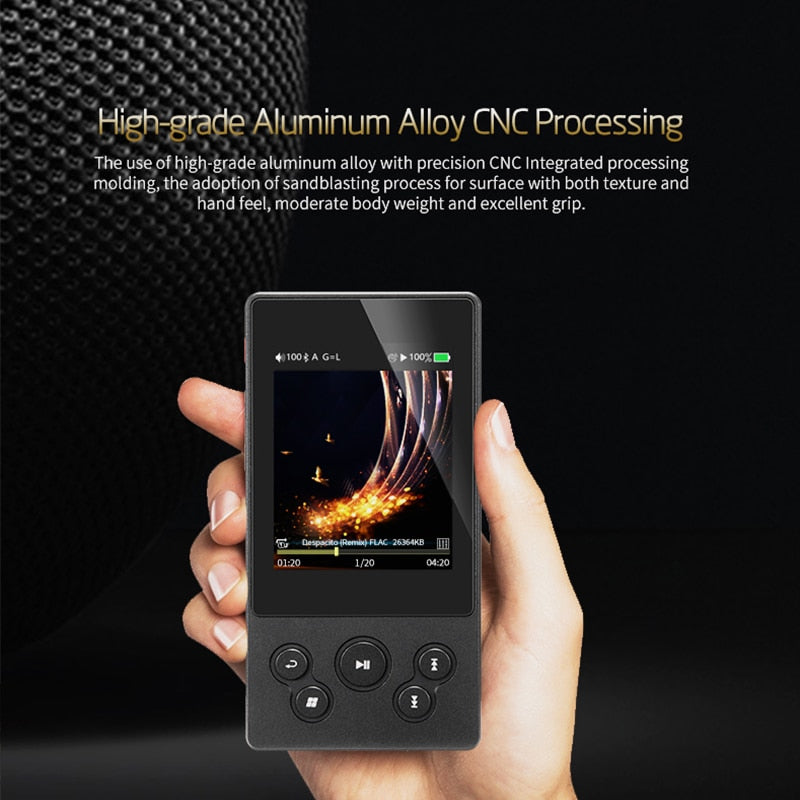XDUOO X3II X3 II AK4490 USB DAC Bluetooth Portable HD Lossless MP3/WAV/ FLAC Music Player DSD128