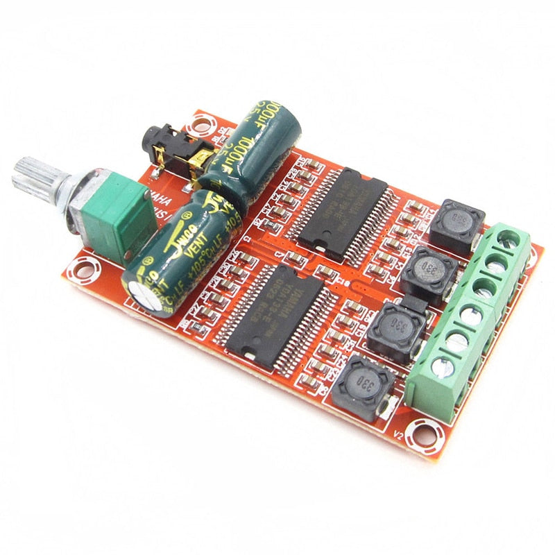 XH-M531 20W x 2 DC12-15V For Yamaha Digital mini Amplifier Board Stereo HIFI Class D Audio module