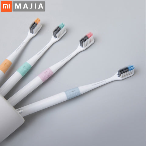 Xiaomi Doctor B Tooth Mi Bass Method Sandwish-bedded better Brush Wire 4 Colors Including Travel Box