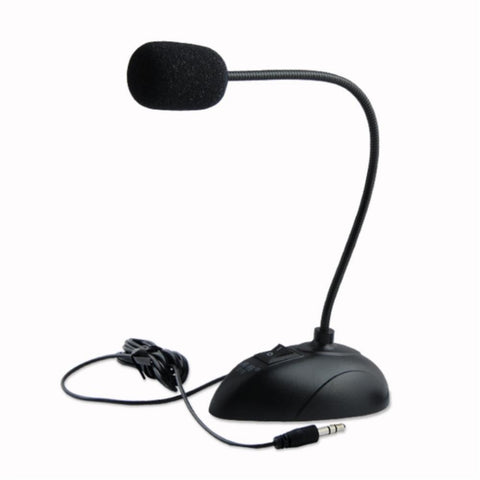 YCDC NEW Professional Condenser Sound Podcast Studio Microphone For PC Laptop Skype MSN Microphone