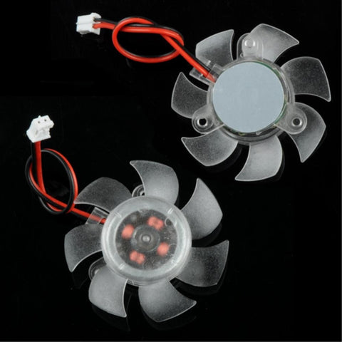 YCDC VGA Cooling Fan Mini 45mm 12V PC CPU VGA Video Card Heatsink Cooling Cooler Fan 2 Pin Connector