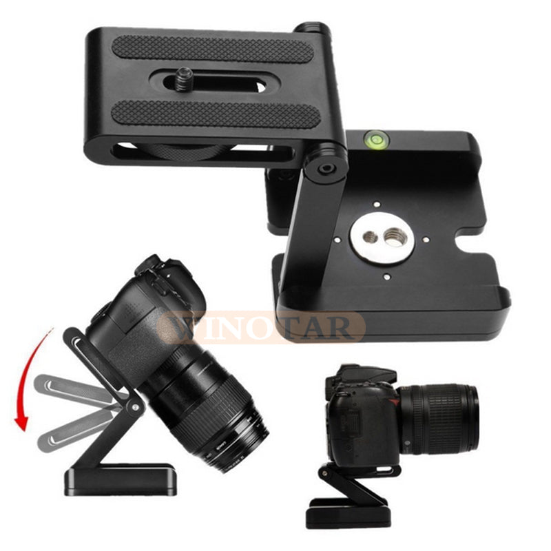 Z Type Tripod Heads Solution Photography Studio Camera Tripod Z Pan & Tilt Flex Tilt Head