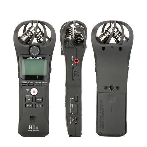 ZOOM H1 H1N Handy Recorder Digital Camera Audio Recorder Interview Recording Stereo Microphone for