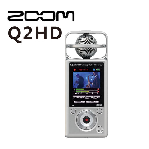 ZOOM Q2HD Handy Video Recorder HD video recorder for recording live musical performances,