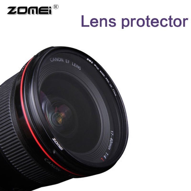 Zomei Camera Filter UltraViolet Slim UV Slim MCUV Filter Filtro 40.5 49 52 55 58 62 67 72 77 82mm