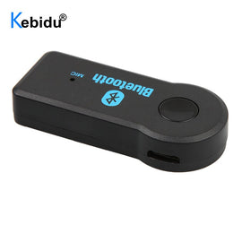 kebidu Bluetooth Mini Audio Receiver 3.5mm MP3 Speaker Adapter Jack Transmitter AUX Music Car Kit for Car