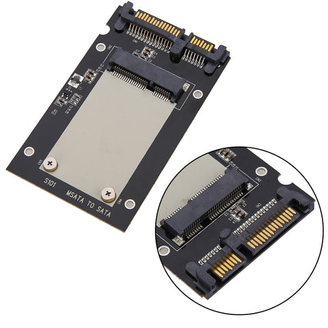 "mSATA SSD to 2.5"" SATA Drive Convertor Adapter Card plug and play 50mm x 30mm"