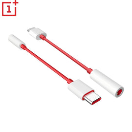 original oneplus 6T 7 Pro usb Type C To 3.5mm Earphone Jack Adapter Aux Audio For oneplus 7T/7T