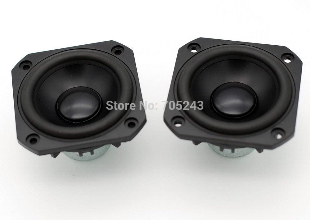 pair( 2 pcs) peerless P830986 HIEND 3inch aluminum cone fullrange speaker free ship for hifi