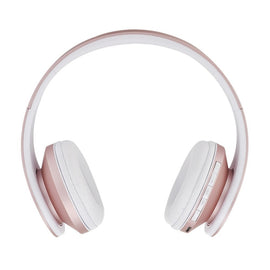 Wireless Bluetooth Earphones Stereo Foldable Headphones Over Ear Headset FM Radio TF Card with Microphone
