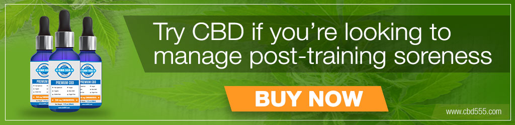 Try our CBD oil post training.