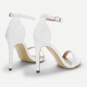 Single Band Ankle Strap Stiletto Heels