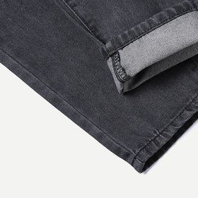 Men Tape Detail Drawstring Jeans