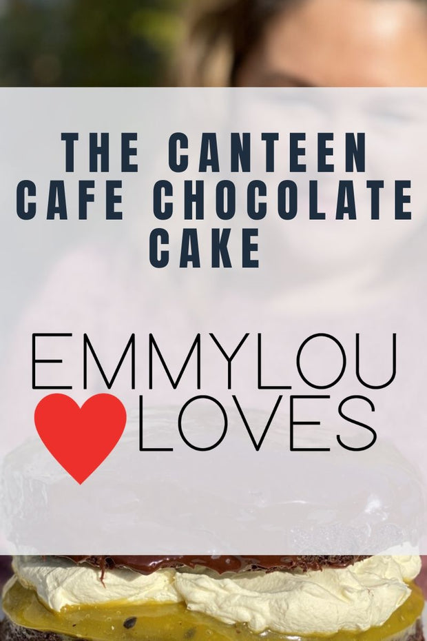 The Canteen Cafe Chocolate Cake - Free Recipe PDF