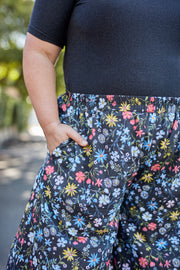 The Wild Culotte Pants Floral