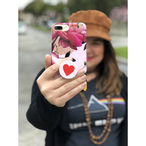 Phone Pop Socket Red Heart