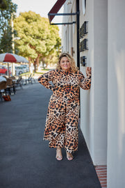 The Wild Culotte Pants Leopard