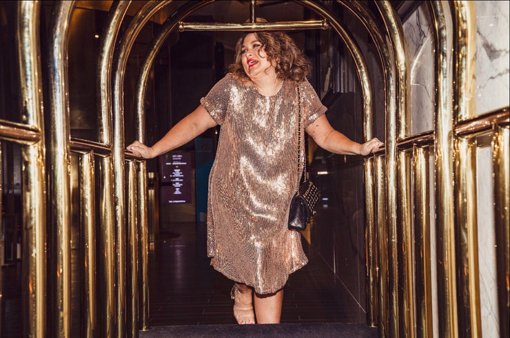 Manhattan Sequinned Dress