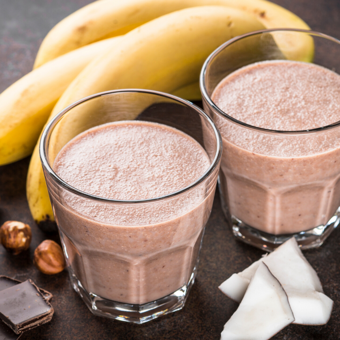 Baobab, Banana & Cacao Smoothie