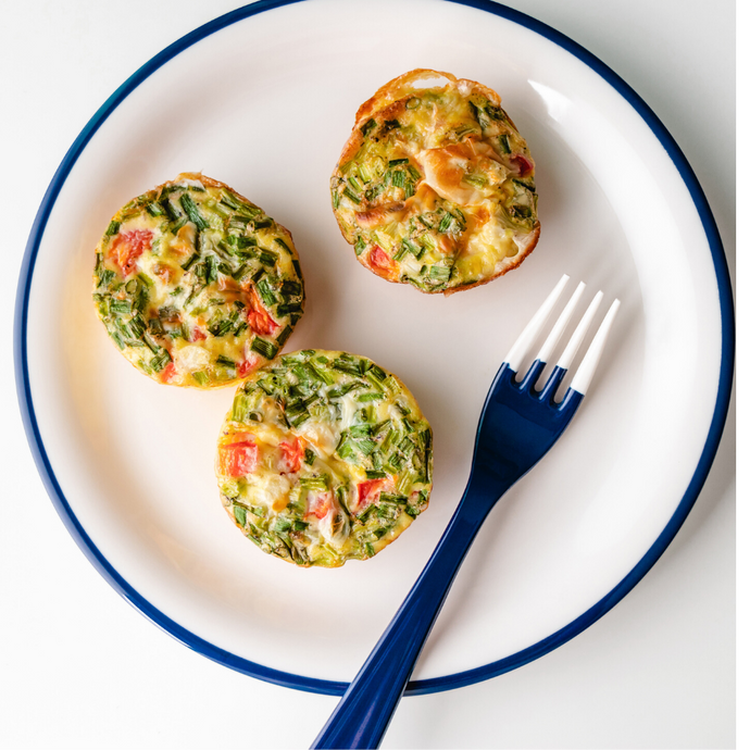 Moringa Mushrooms Omelet Muffins