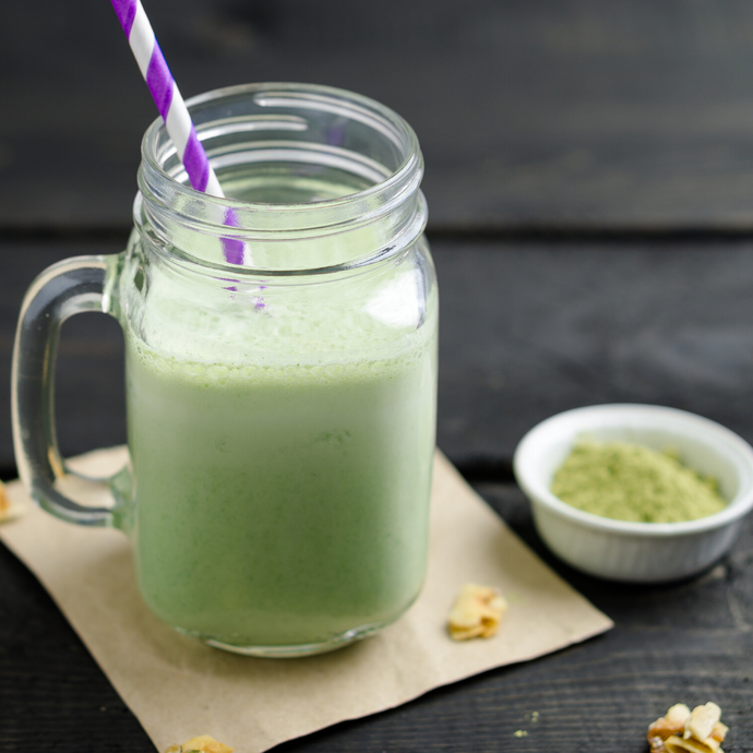 Moringa and Coconut Milk Smoothie