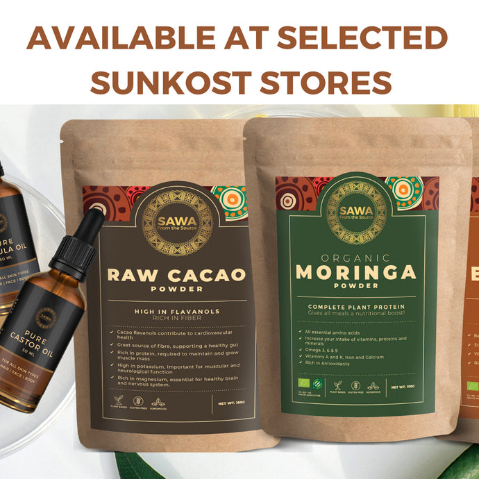 SAWA Now Available In Selected SUNKOST Stores