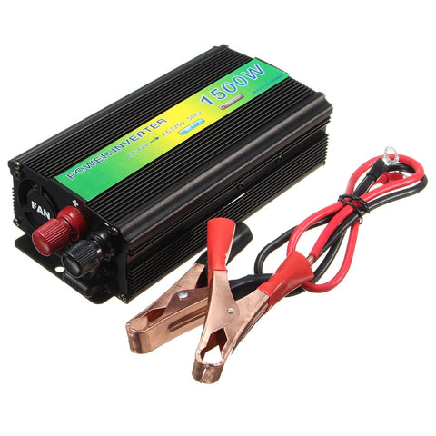1500 W Power Inverter DC 12 V A AC 220 V Modificato Onda Sinusoidale Pura Convertitore USB Charger