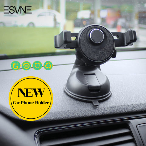 ESVNE Universal Car Phone Holder per iPhone 6 7 GPS Mobile Phone Car Holder Stand Parabrezza supporto del telefono cellulare