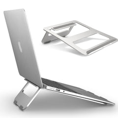 Metallo portatile Laptop Stand Portatile In Alluminio Stand per MacBook di Apple Lenovo HP Acer Laptop Stand Pieghevole In Alluminio