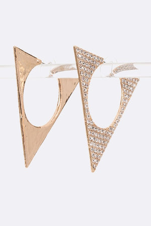Iconic Crystal Earrings - For Sure Fashion Boutique