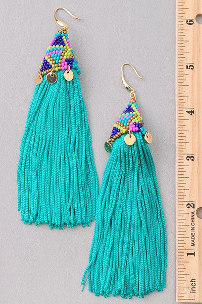 Tassel Earrings - For Sure Fashion Boutique