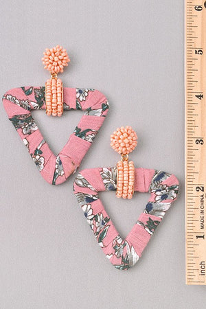 Floral Earrings - For Sure Fashion Boutique
