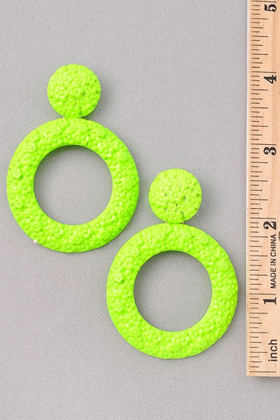 Tropical Loop Earrings