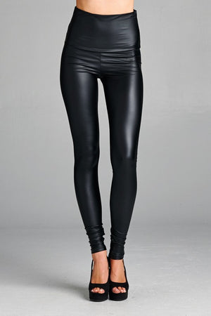 Load image into Gallery viewer, Faux Leather Leggings - For Sure Fashion Boutique