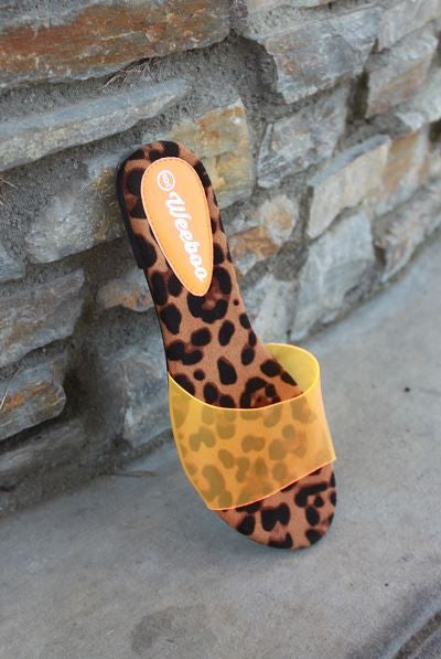 Load image into Gallery viewer, Leopard Sandals - For Sure Fashion Boutique