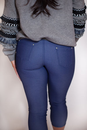 Load image into Gallery viewer, Jean Legging - For Sure Fashion Boutique