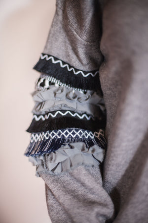 Tribal Balloon Sweater - For Sure Fashion Boutique