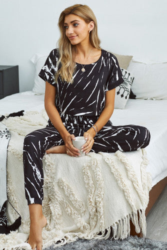 Tiger Lounge Jumpsuit