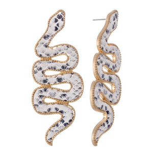 Scales Earrings - For Sure Fashion Boutique