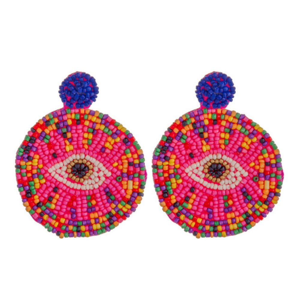 Evil Eye Earrings - For Sure Fashion Boutique