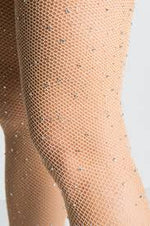 Rhinestone Fishnet Stockings - For Sure Fashion Boutique