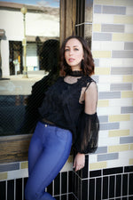 Eyecatcher Lace Top - For Sure Fashion Boutique