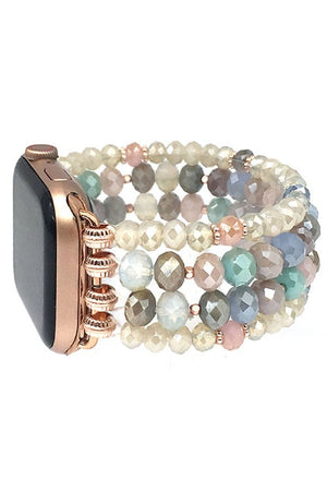 Glass Crystal Apple Watch Band - For Sure Fashion Boutique