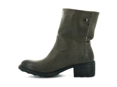 74322_938 | Bottines femme COVENTRY CML W | ARMY GREEN