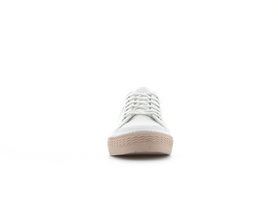 76556_U95 | Basket Femme STUDIO 02 TXT | WHITE/LIGHT BLUE