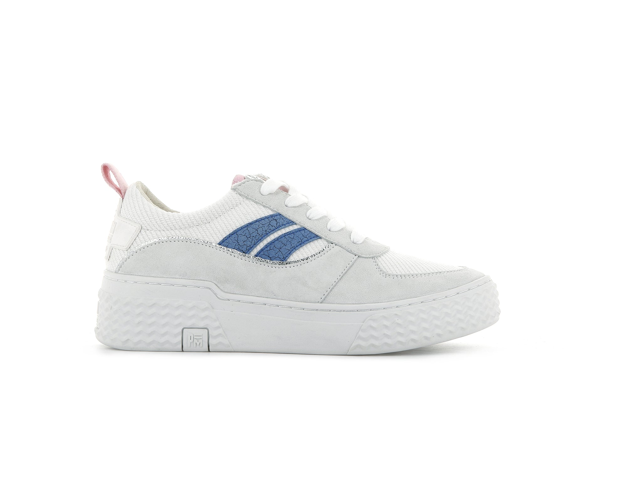 76991_V62 | Baskets femme EGO 01 SOAP | WHITE/PINK/BLUE