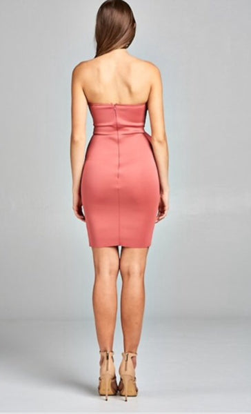 BEXX BODYCON TUBE DRESS