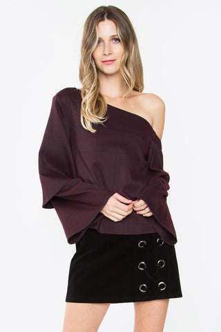 GINA ONE SHOULDER TOP