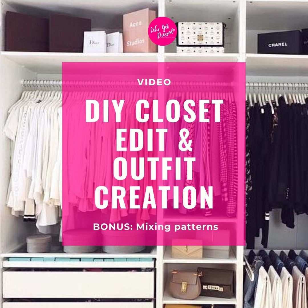 DIY CLOSET EDIT AND OUTFIT CREATION-VIDEO BUNDLE