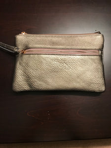 SLEEK clutch handbag